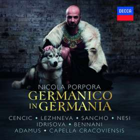 Nicola Antonio Porpora (1686-1768): Germanico in Germania, 3 CDs