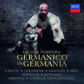Nicola Antonio Porpora (1686-1768): Germanico in Germania, 3 CDs