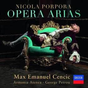 Nicola Antonio Porpora (1686-1768): Opernarien, CD