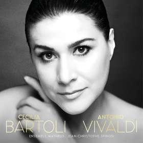 Cecilia Bartoli - Antonio Vivaldi (Deluxe-Ausgabe im Hardcover-Booklet), CD
