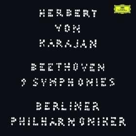Ludwig van Beethoven (1770-1827): Symphonien Nr.1-9 (180g / auf 1200 Exemplare limitierte Deluxe-Ausgabe), LP