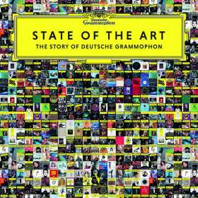 120 Jahre Deutsche Grammophon Gesellschaft -  State of the Art (180g Vinyl mit Buch), LP