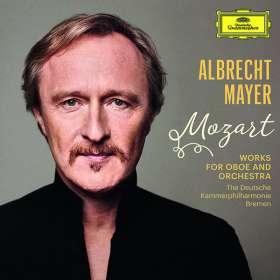 Albrecht Mayer - Mozart (Werke für Oboe & Orchester), CD