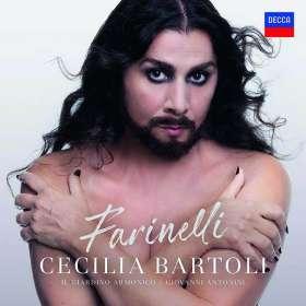 Cecilia Bartoli - Farinelli, CD