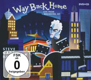 Steve Gadd: Way Back Home - Live From Rochester, NY, 2 DVDs