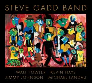 Steve Gadd: Steve Gadd Band, CD