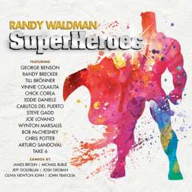 Randy Waldman: Superheroes, CD