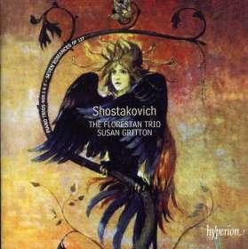 Dmitri Schostakowitsch (1906-1975): Klaviertrios Nr.1 & 2 (opp.8 & 67), CD