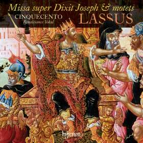 Orlando di Lasso (Lassus) (1532-1594): Missa super Dixit Joseph, CD