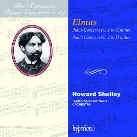 Stephan Elmas (1862-1937): Klavierkonzerte Nr.1 & 2, CD