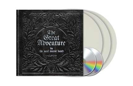 Neal Morse: The Great Adventure (Clear/White Marbled Vinyl) (exklusiv für jpc!), 3 LPs