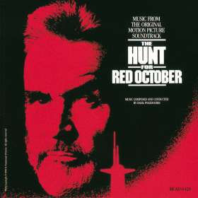 The Hunt For Red October, CD