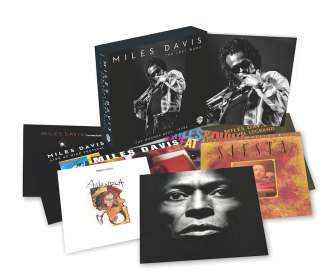 Miles Davis (1926-1991): The Last Word - The Warner Bros.Years, 8 CDs