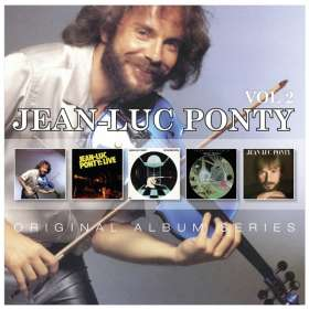 Jean-Luc Ponty (geb. 1942): Original Album Series Vol.2, 5 CDs