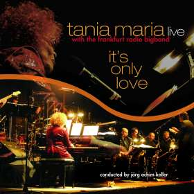 Tania Maria (geb. 1948): It's Only Love (180g) (LP + CD), LP