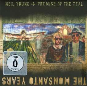 Neil Young: The Monsanto Years (CD + DVD), CD