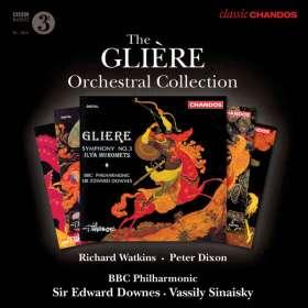 Reinhold Gliere (1875-1956): Orchesterwerke, CD