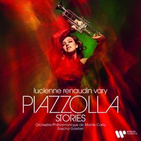 Lucienne Renaudin Vary - Piazzolla Stories, CD