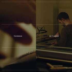 """Carlos Cipa (geb. 1990): Klavierwerke """"Correlations"""" (180g), LP"""
