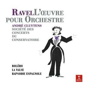 Maurice Ravel (1875-1937): Orchesterwerke (180g), LP