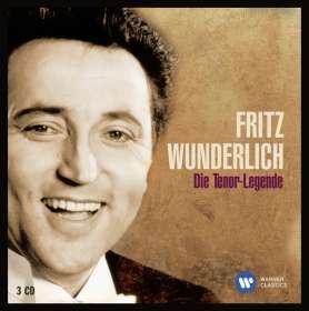 Fritz Wunderlich - Die Tenor-Legende, 3 CDs