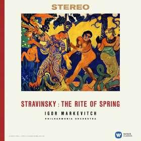 Igor Strawinsky (1882-1971): Le Sacre du Printemps (180g), LP