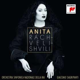 Anita Rachvelishvili singt Arien, CD