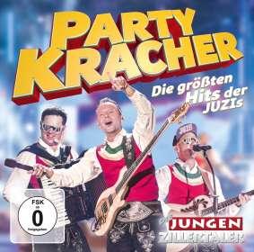 Die Jungen Zillertaler: Partykracher-Die gröáten Hits der JUZIs, CD