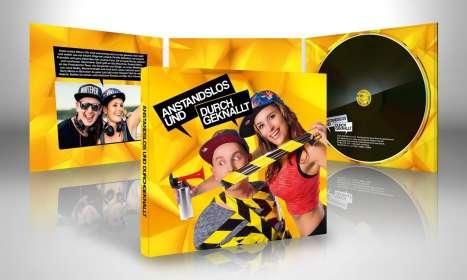 Anstandslos & Durchgeknallt: Anstandslos & Durchgeknallt, CD