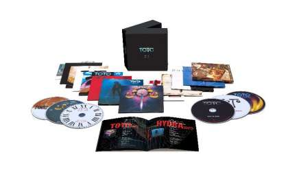 Toto: All In - The CDs, 13 CDs