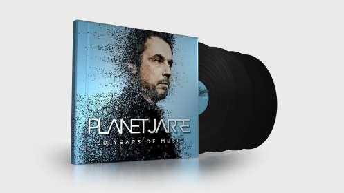 Jean Michel Jarre: Planet Jarre, 4 LPs