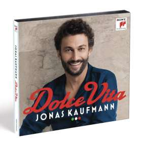 Jonas Kaufmann – Dolce Vita (Set aus CD & DVD), CD