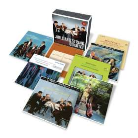 Juilliard String Quartet - The Complete RCA Recordings, 11 CDs