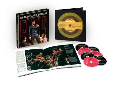 Elvis Presley (1935-1977): Elvis: '68 Comeback Special (50th-Anniversary-Edition), CD