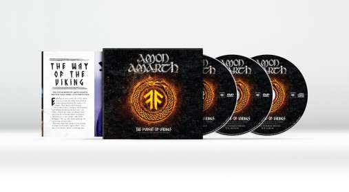 Amon Amarth: The Pursuit Of Vikings: 25 Years In The Eye Of The Storm, CD