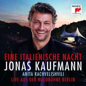 Jonas Kaufmann – Eine italienische Nacht (Live aus der Waldbühne Berlin), CD