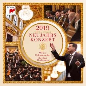 Neujahrskonzert 2019 der Wiener Philharmoniker, 2 CDs