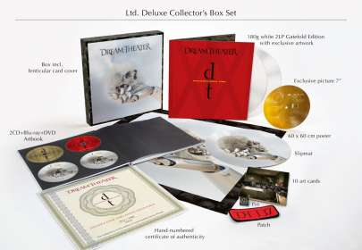 Dream Theater: Distance Over Time (180g) (Limited-Deluxe-Collector's-Box-Set) (White Vinyl), LP