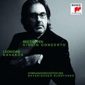 Ludwig van Beethoven (1770-1827): Violinkonzert op.61 (von Leonidas Kavakos exklusiv für jpc signiert), CD