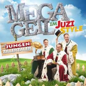 Die Jungen Zillertaler: Megageil im JUZI-Style, CD