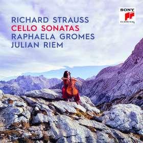 Richard Strauss (1864-1949): Sonate für Cello & Klavier op. 6 (Urfassung 1881), CD