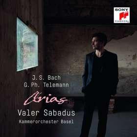 Valer Sabadus - Arias (Bach & Telemann) (Von Valer Sabadus signierte Exemplare), CD