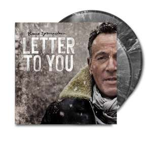 Bruce Springsteen: Letter To You (Limited Edition) (Black with White Splatter Vinyl) (in Deutschland/Österreich/Schweiz exklusiv für jpc!), LP