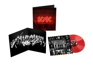 AC/DC: Power Up (180g) (Limited Edition) (Opaque Red Vinyl), LP