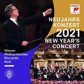 Neujahrskonzert 2021 der Wiener Philharmoniker (180g), LP