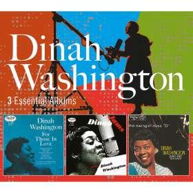 Dinah Washington (1924-1963): 3 Essential Albums, 3 CDs