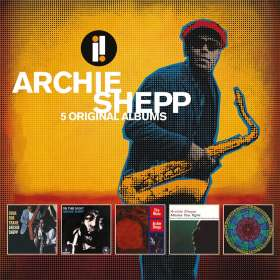 Archie Shepp (geb. 1937): 5 Original Albums, 5 CDs