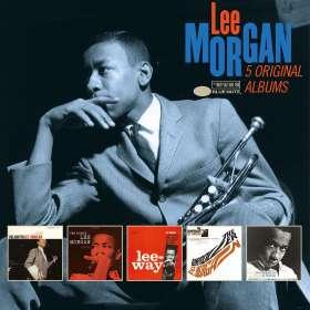 Lee Morgan (1938-1972): 5 Original Albums, 5 CDs