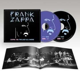 Frank Zappa (1940-1993): Zappa '88: The Last U.S. Show (Limited Edition), CD