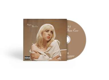 Billie Eilish: Happier Than Ever, CD